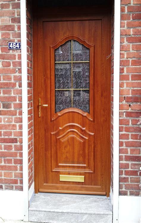 Devis Porte D Entrée 1265 by Porte D Entr 233 E En Bois Exterieur Moderne Urbantrott