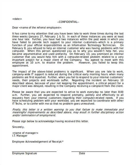 Acknowledgement Letter From Employer 41 Acknowledgement Letter Exles Sles