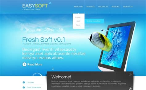 wordpress themes free download for software company software company wordpress theme 38931