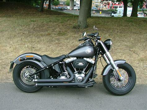 Harley Davidson Fls by Harley Davidson Fls 103 Softail Slim Charcoal Satin Grey