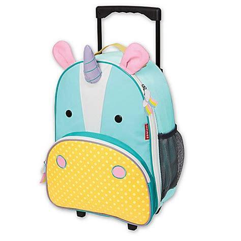 Skip Hop Zoo Luggage Kid Rolling Luggage Giraffe skip hop 174 zoo kid rolling luggage in unicorn bed bath beyond