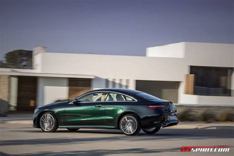 green mercedes 2017 mercedes benz e class coupe review gtspirit