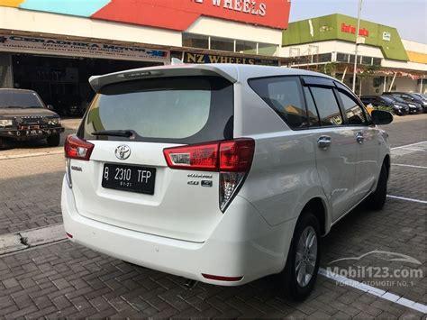 Toyota Innova Reborn 2 0 G Mt 2016 jual mobil toyota kijang innova 2016 g 2 0 di jawa barat