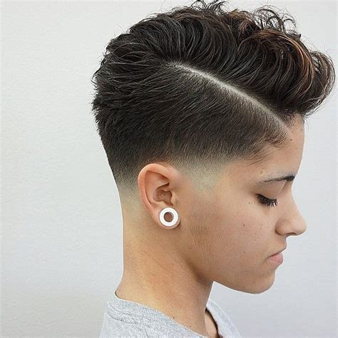 women curly fades 38 best hairstyles images on pinterest hair cut short
