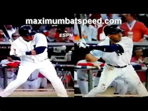 derek jeter swing analysis miguel cabrera hitting mechanics analysis doovi