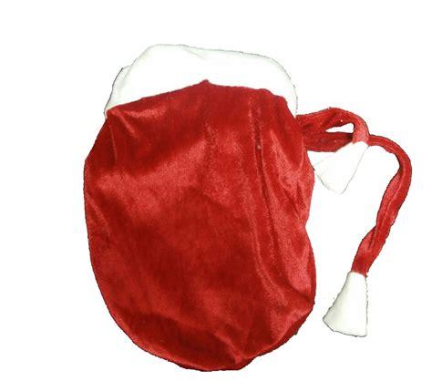 christmas velvet pouch