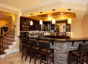 Shaker Kitchen Ideas stone bar ideas basement traditional with stacked stone