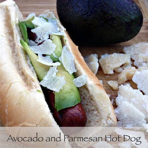 dogs and avocado avocado and parmesan crunchy