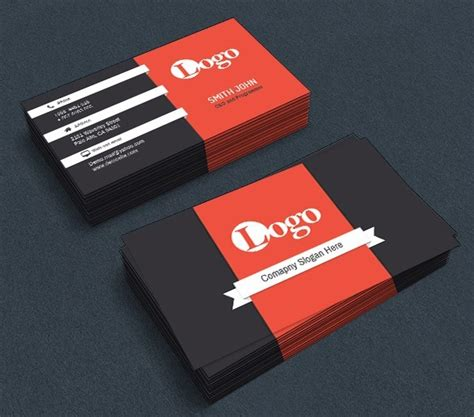 Corporate Business Card Templates Psd by Free Corporate Business Card Templates Psd Titanui