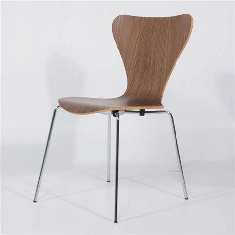 seven sedie sedia seven jacobsen in legno noce canaletto ibfor