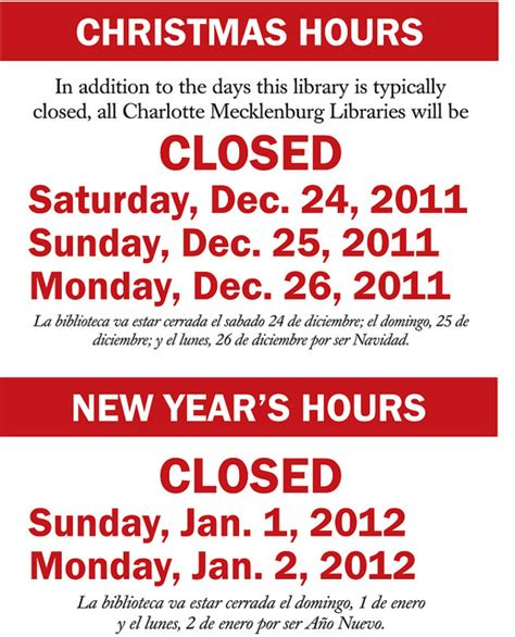 5 best images of printable closed signs business