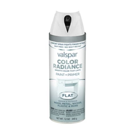 shop valspar color radiance white indoor outdoor spray paint at lowes