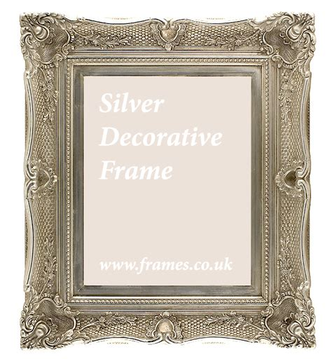decorative picture frames ready made silver decorative frames from 163 98 71 at frames