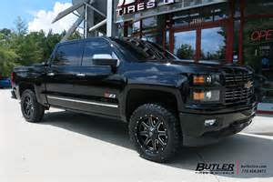 chevrolet silverado 2500hd custom wheels fuel maverick 21x