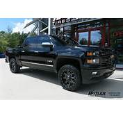 Chevrolet Silverado With 20in Fuel Maverick Wheels Exclusively From