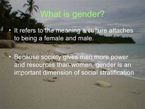Gender Stratification Essay by Gender Stratification Essay