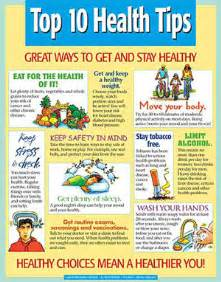 poster on health chatorioles