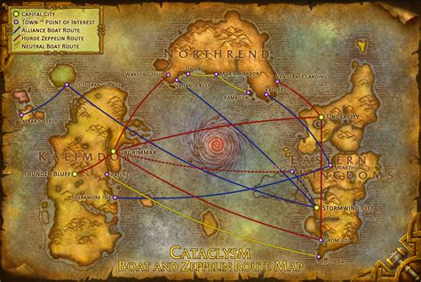 wow boat to ratchet cataclysm boat and zeppelin route map wow 171 quot pa ti pa siempre quot
