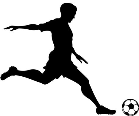 Bedroom Wall Decor Stickers shop houzz dana decals soccer player kicking wall decal