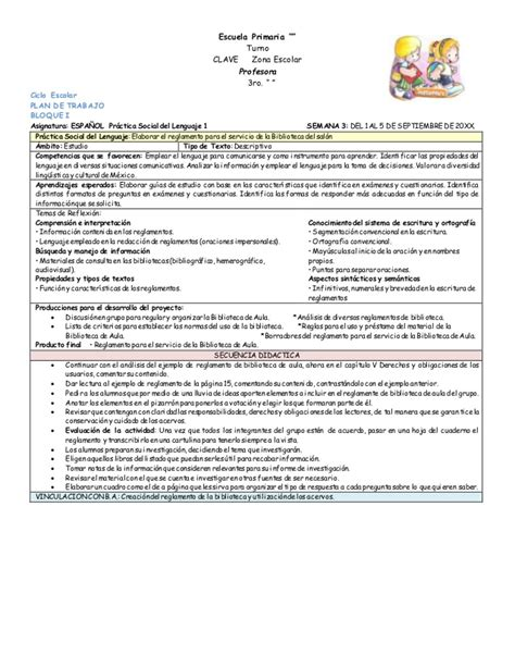 planificacion anual primer grado de primaria 2016 planificacion de tercer grado de primaria ciclo 2015 2016