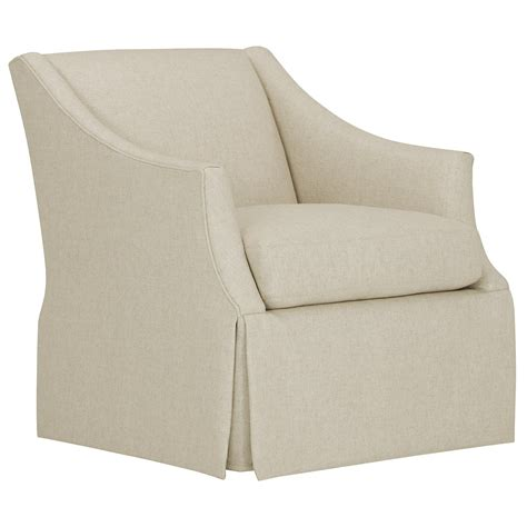 City Furniture Clayton White Fabric Swivel Accent Chair Accent Chair Swivel