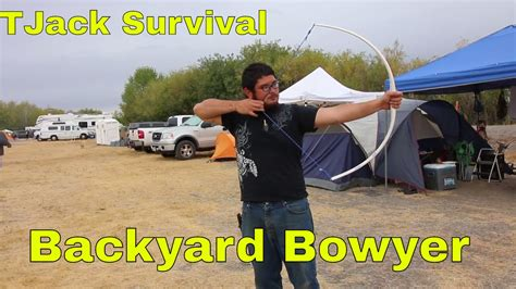 the backyard bowyer building a bow with the backyard bowyer at rabbitstick