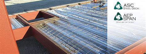 Asc Steel Deck by Spotlight On Asc Steel Deck Aep Span River Vine Vineyards