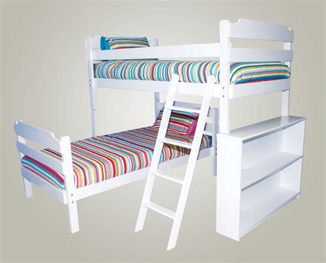 l shaped bunk bed plans cool 20 l shaped triple bunk bed plans design ideas of