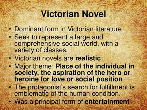 Common Themes In Victorian Literature | victorian literature