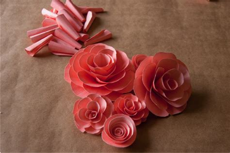 A Flower Out Of Paper - 38 how to make paper flower tutorials so pretty tip
