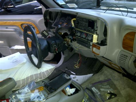 Service Manual How To Remove Dash From A 1996 Chevrolet