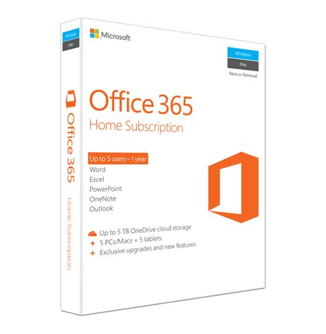 Software Microsoft Office 365 microsoft office 365 home lowest prices specials