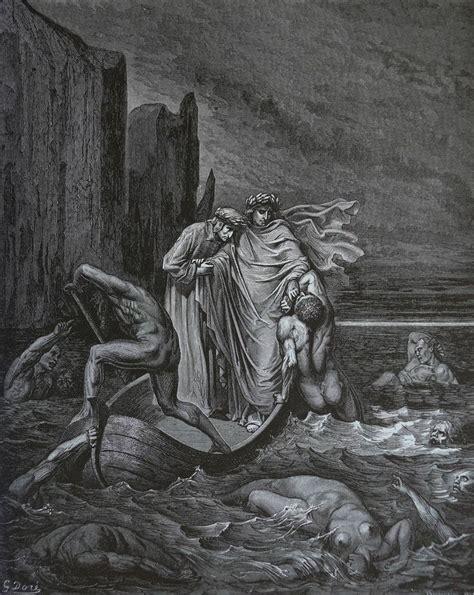 Dore S Illustrations For Dante S Comedy gustave dor 233 la divina commedia l inferno the styx philippo argenti gustave dor 233 la divina