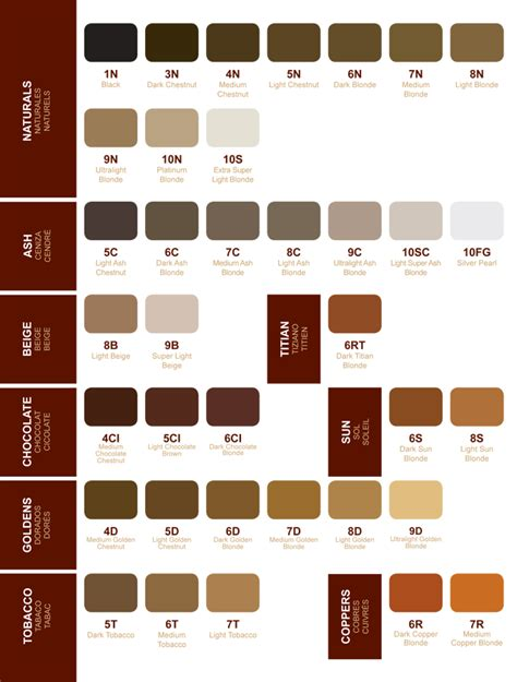 chi hair color chart chi hair color chart newhairstylesformen2014