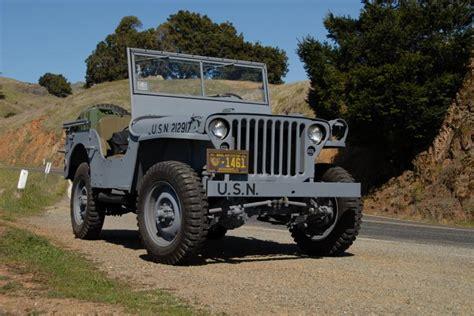 Jeep Restoration Classic Automotive 187 1944 Willys Mb Navy Jeep