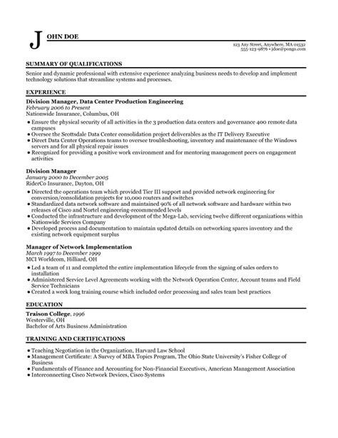 sle resume home maker