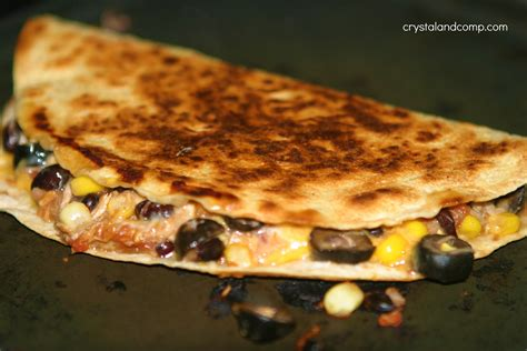 www easy easy recipes black bean and corn quesadillas leftover