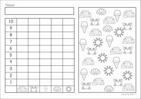 summer counting worksheets summer review math literacy worksheets activities