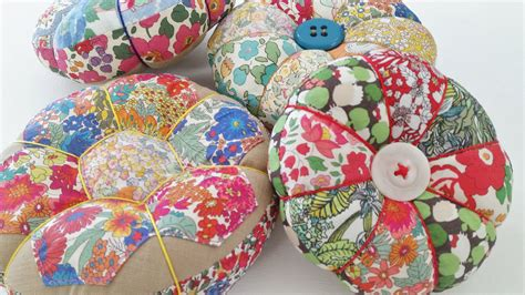 Handmade Pincushions Patterns - diy pincushion ideas mad for fabric