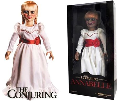 annabelle doll viewing the conjuring scaled replica annabelle doll catawiki