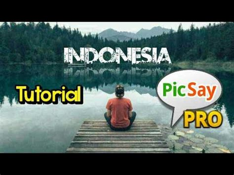 tutorial make up picsay pro tutorial picsay pro quot bikin tulisan efek pantulan di air