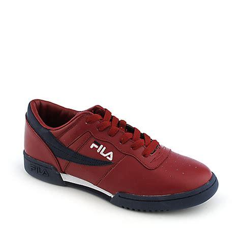 fila original fitness lea mens athletic tennis shoe