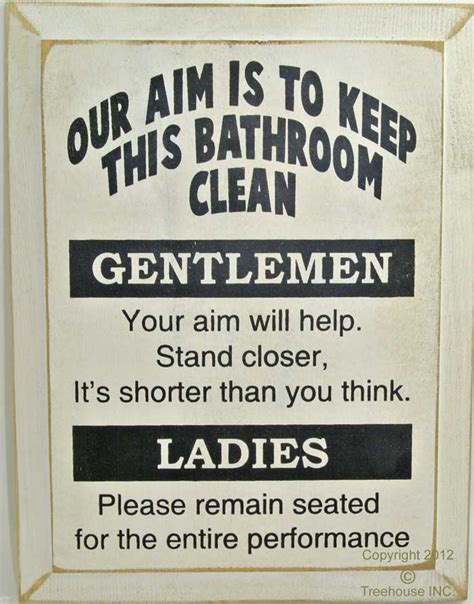 bathroom clean up signs keep bathroom clean signs clean up after yourself humorous