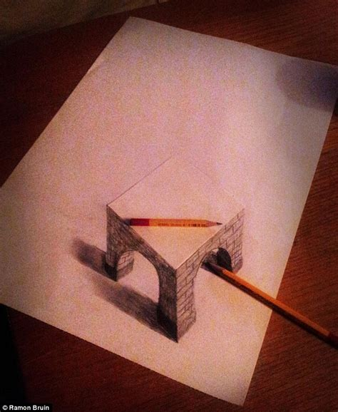 How To Make 3d Sketch On Paper - you won t believe your artist creates amazing 3d