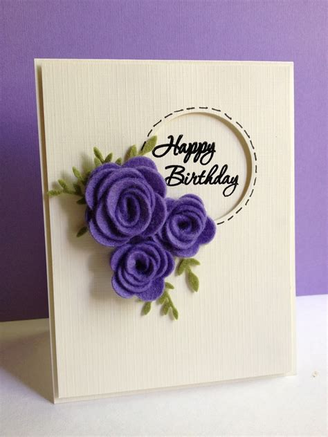 Handmade Birthday Cards For - image gallery handmade birthday cards