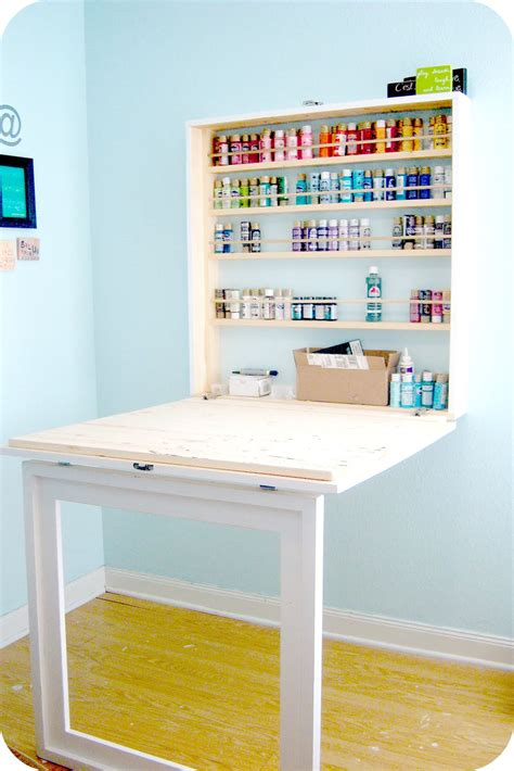 Craftaholics Anonymous 174 Craft Paint Storage Ideas
