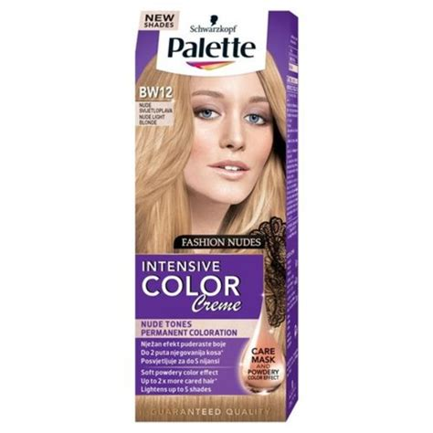 is color intensive or extensive schwarzkopf palette intensive color creme bw12 jasny