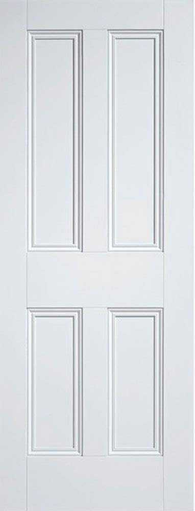 White Panel Interior Doors 4 Panel Nostalgic White Doors