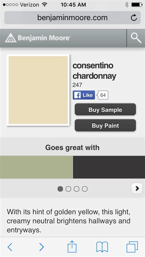 chardonnay color benjamin consentino chardonnay paint colors