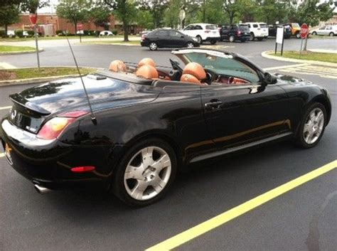 lexus convertible 4 door find used 2005 lexus sc430 base convertible 2 door 4 3l in